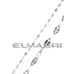 Edelstahl-Halskette 3EM75
