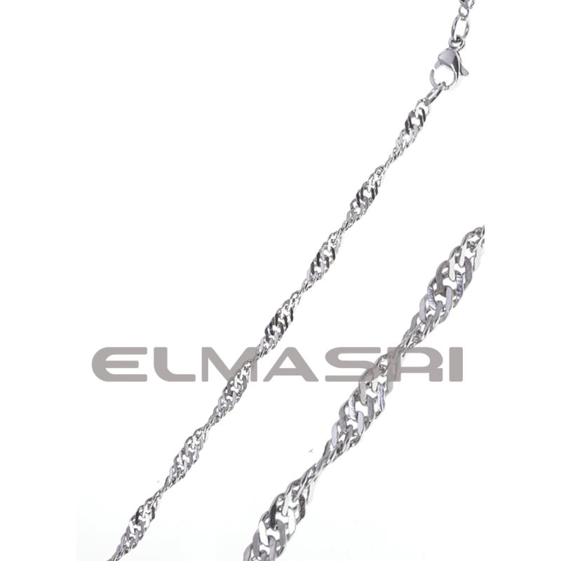 Edelstahl-Halskette 3EM76A