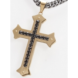 Edelstahlanhänger Kreuz (Paketpreis)