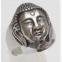 Edelstahlring Buddha (Stückpreis)