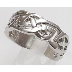 Edelstahlring Keltisches Symbol (Stückpreis)