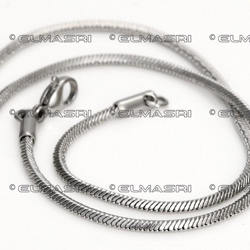 Edelstahl-Halskette 6EM68