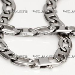 Edelstahl-Set Halskette und Armband 11SK76 (Paketpreis)