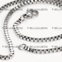 Edelstahl-Halskette 9SK10