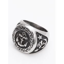Siegel - Ring mit Anker 49EM626