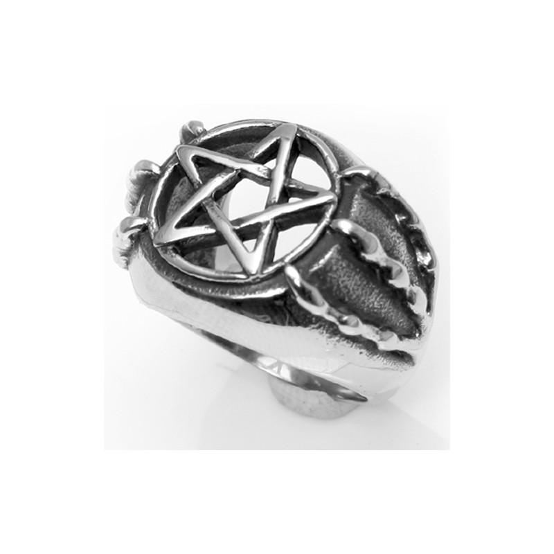 Siegelring mit Pentagramm 58EM810