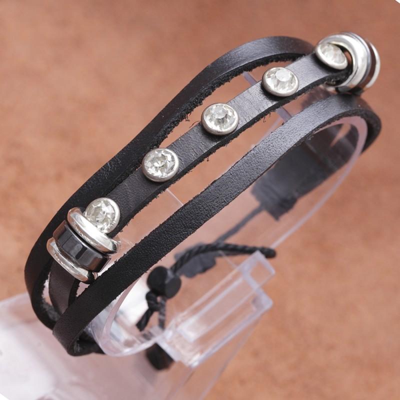 Leder-Armband 68ST67