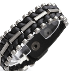 1A-Qualität-Leder-Armband 69ST76