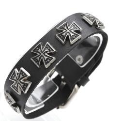 1A-Qualität-Leder-Armband 69ST77