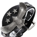 1A-Qualität-Leder-Armband 69ST79