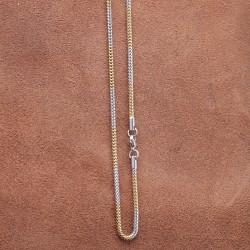 Edelstahl-Halskette 77ST155