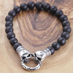 Onyxstein Armband 5ST54 (Paketpreis)