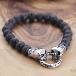 Lavastein Armband 5ST55 (Paketpreis)