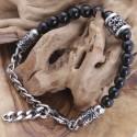 Onyxstein Armband 4ST43 (Paketpreis)