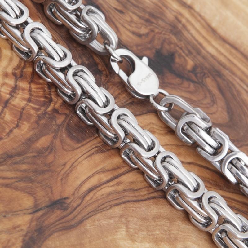 Halskette Edelstahl 2EM63