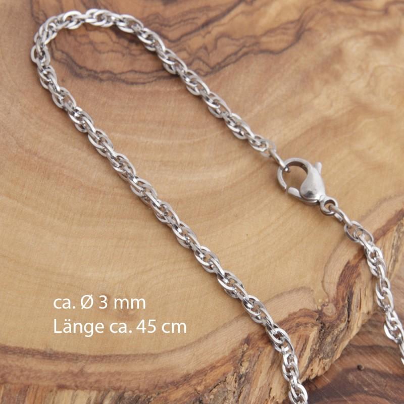 Edelstahl-Halskette 7EM129