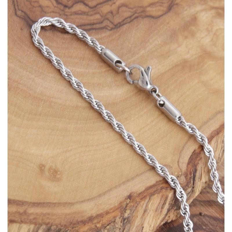 Edelstahl-Halskette 7EM123