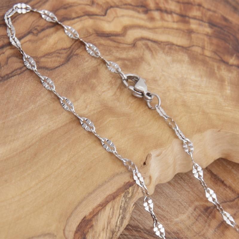 Edelstahl-Halskette 79ST176B