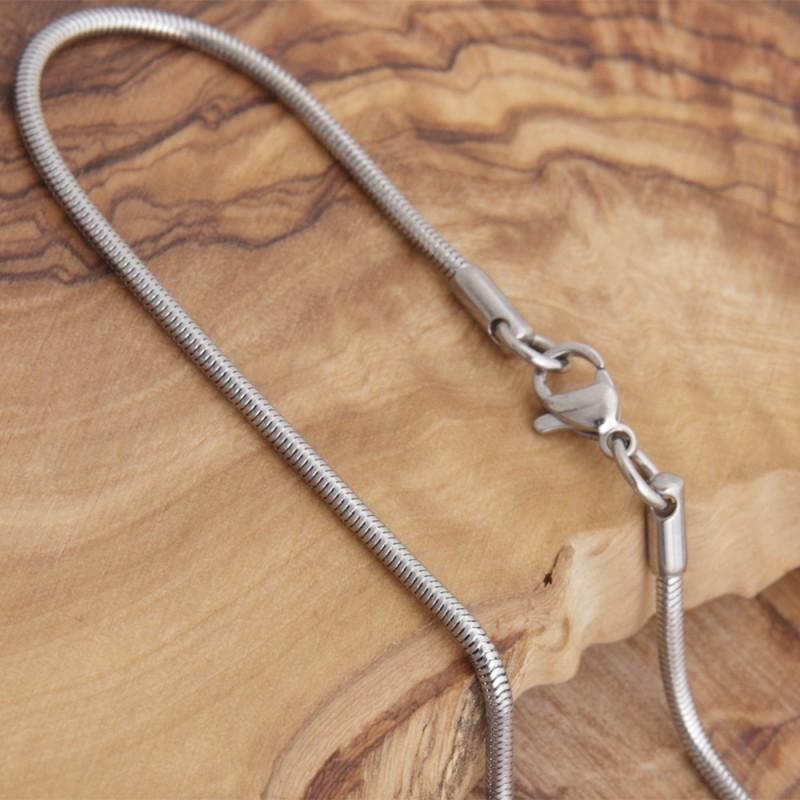 Edelstahl-Halskette 3EM69