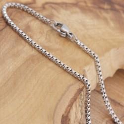 Edelstahl-Halskette 80ST181