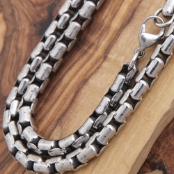 Edelstahl Halskette 63EM903
