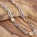 Edelstahl-Halskette 77ST154