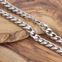 Edelstahl Halskette 11SK81