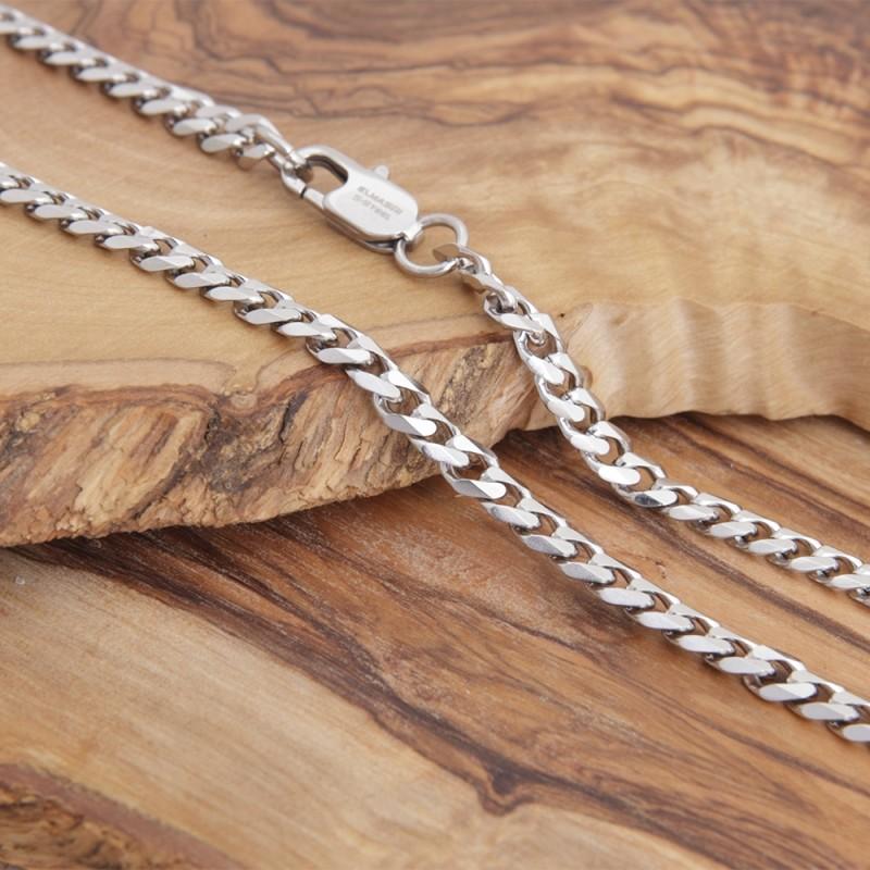 Edelstahl-Halskette 2EM31