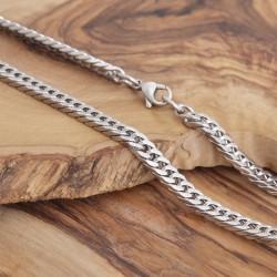 Edelstahl Halskette 54EM720