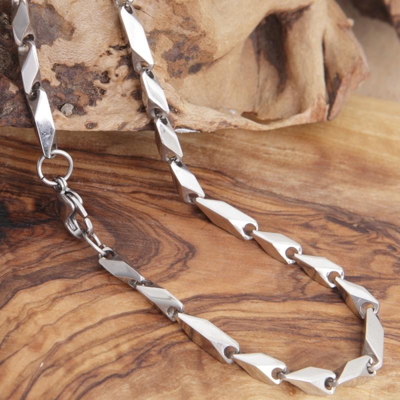 Edelstahl-Halskette 63EM910