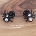 Edelstahl-Ohrstecker Spinne mit Gewinde 34ST152