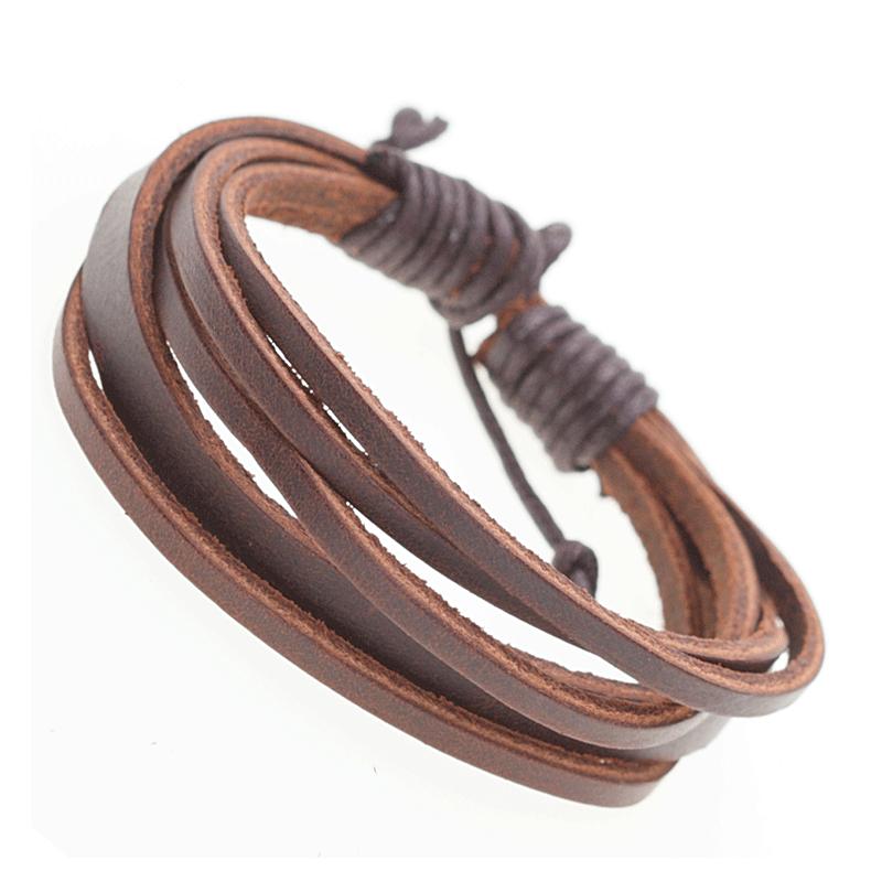 Echtes Leder ! Armband 18EM290 (Paketpreis)