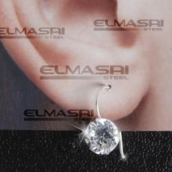 Ohrring aus echtem Silber 1SL9