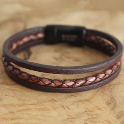Armband mit Edelstahlverschluss 56ST417