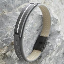 Armband mit Edelstahl 57ST427