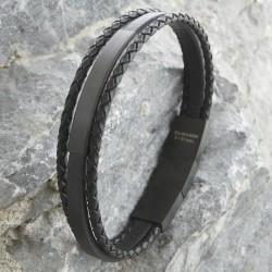 Armband mit Edelstahlverschluss 57ST429