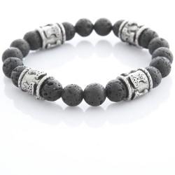 Armband elastisch mit Natursteinen 58ST440