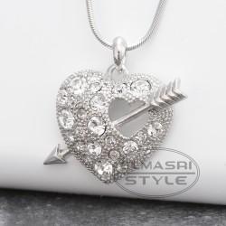 Halskette Herz mit Pfeil (Paketpreis)