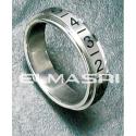 Ring Edelstahl 5SR85 (Preis für 24 Stück)