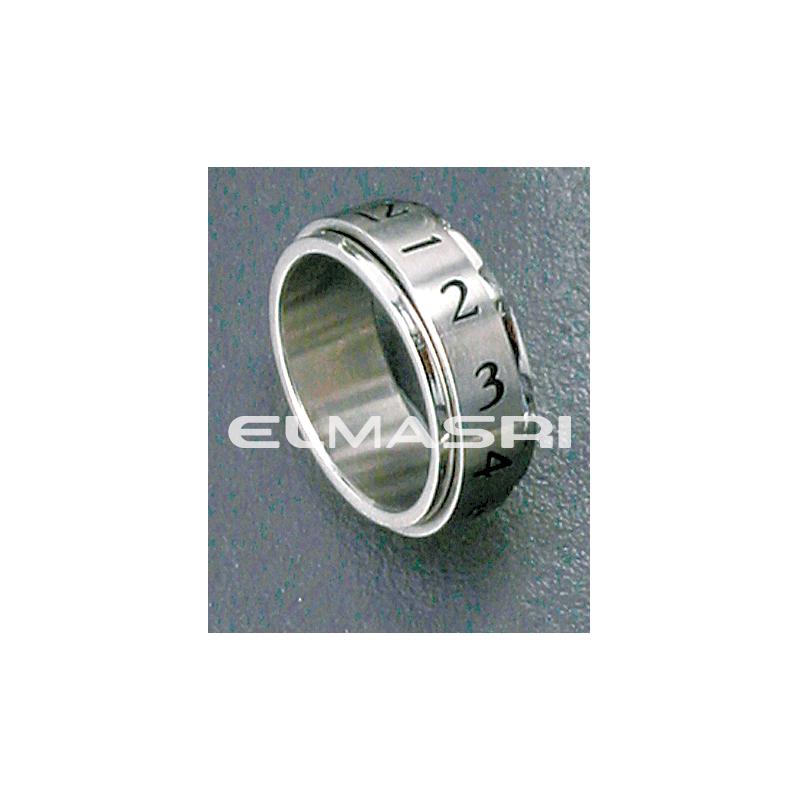 Ring Edelstahl 5SR86 (Preis für 24 Stück)