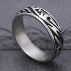 Edelstahl Ring 14STR51 Paket günstiger 7 Stück