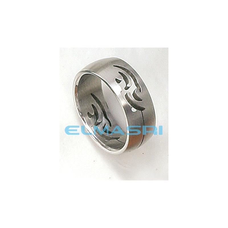 Ring Edelstahl 6SR132 (Preis für 24 Stück)