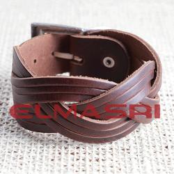Echtes Leder-Armband 26NP3 (Paketpreis)