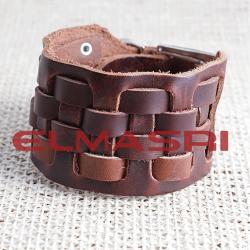 Echtes Leder-Armband 26NP5 (Paketpreis)