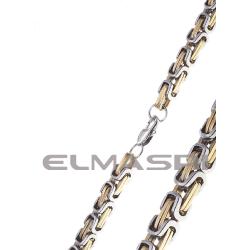 Halskette Edelstahl 2EM52