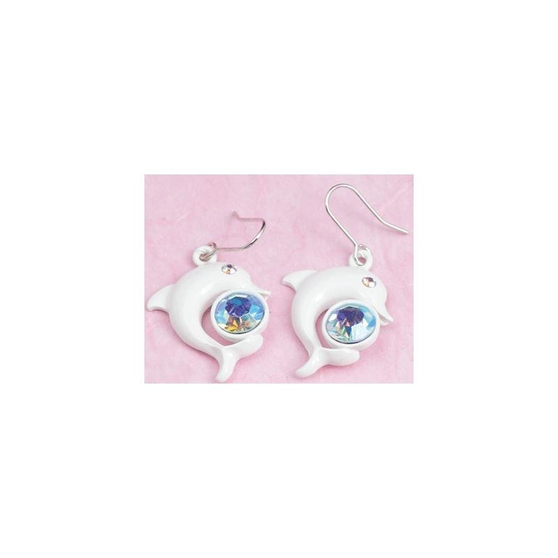 Modeschmuck ohrringe pink  Modeschmuck Ohrringe 50MS389 - El Masri Steel