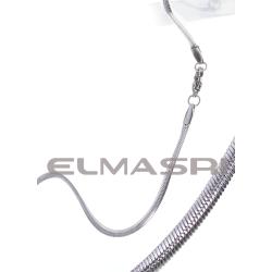 Edelstahl-Halskette 3EM74